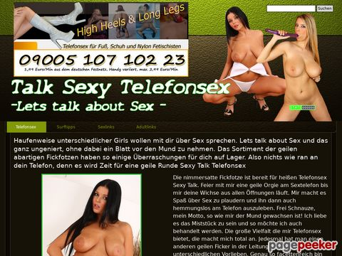 mehr Information : Telefonsex - Let´s talk about Sex
